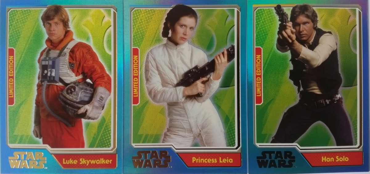 Journey to the Force Awakens Limited Edition Cards