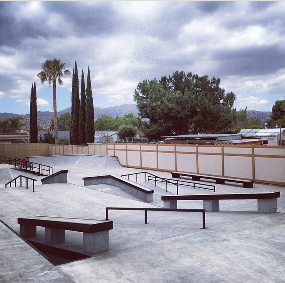 Shane O'Neill Backyard Skatepark
