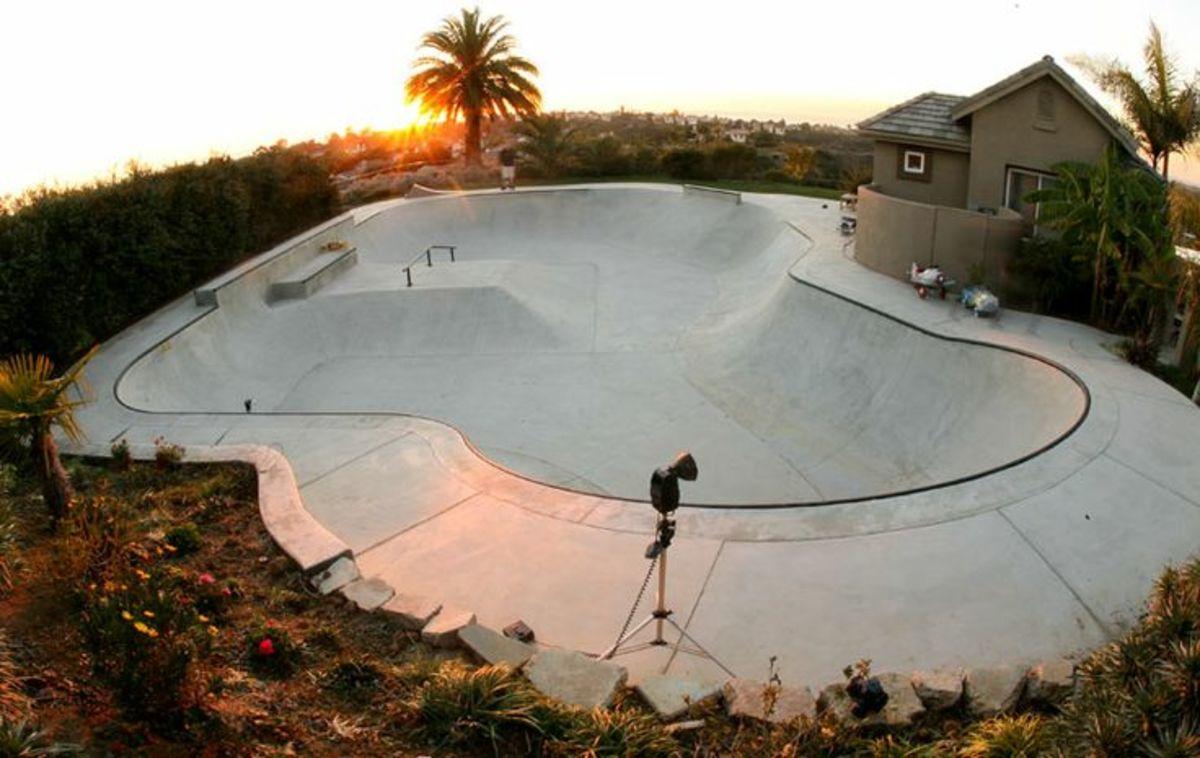 Tony Hawk Backyard Skatepark