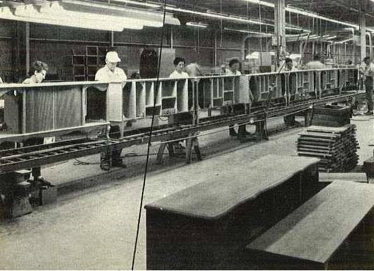 """""""What every you can do, I can do better"""" was the motto at the Curtis Mathes Plants in Texas back in the early 1960s"""