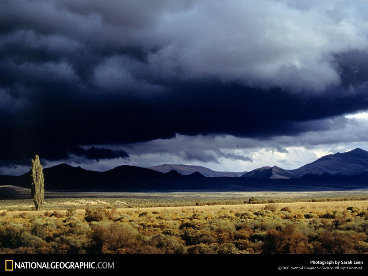 Oregon Desert from National Geographic