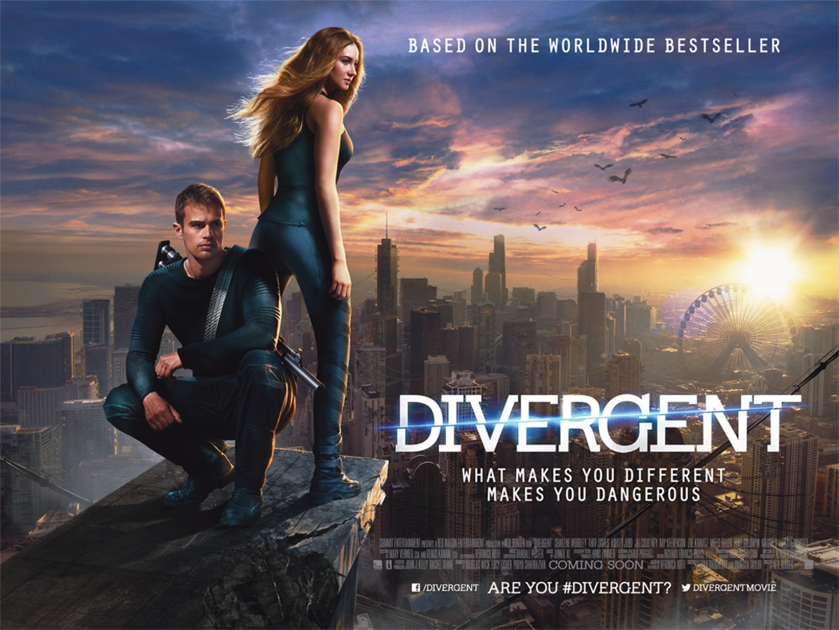 Movies like divergent on netflix