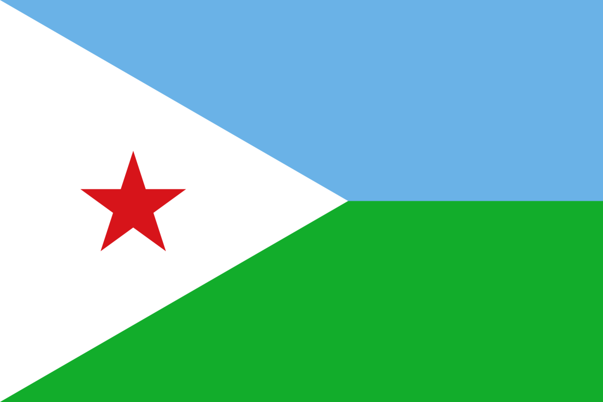 National Flag of Djibouti