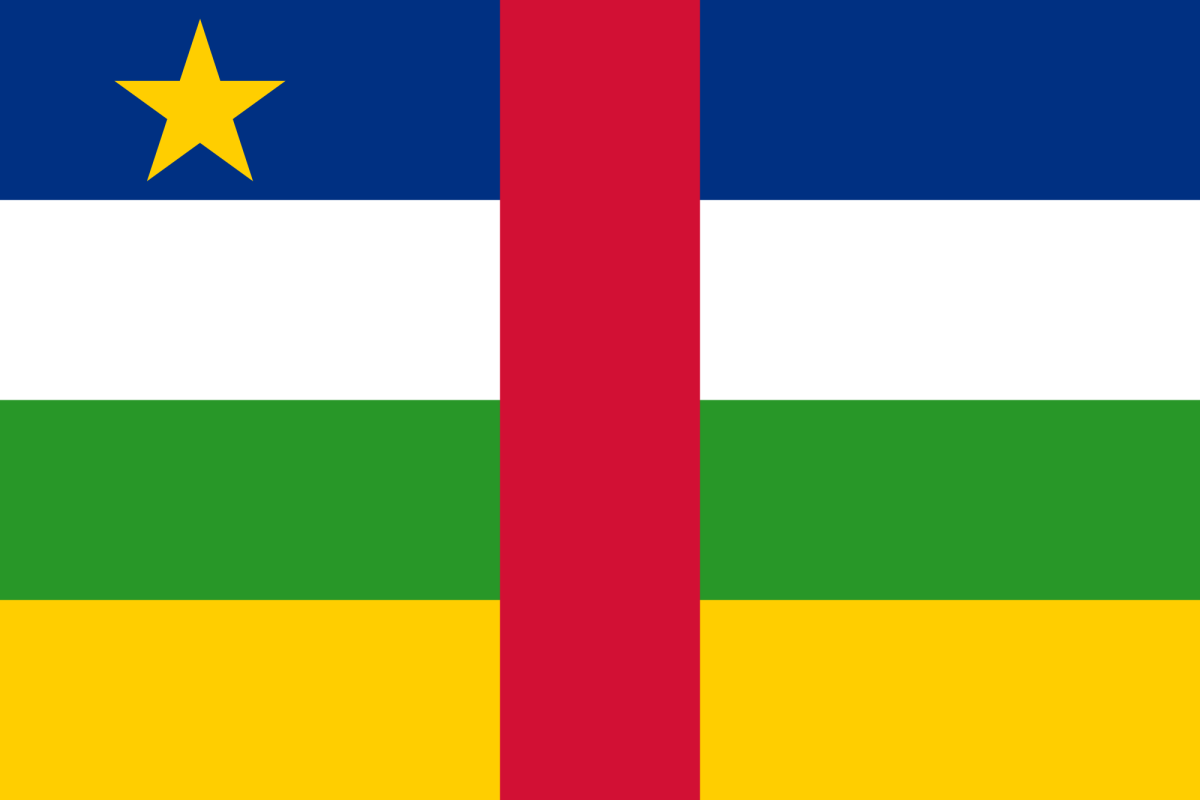 National Flag of Central republic Africa