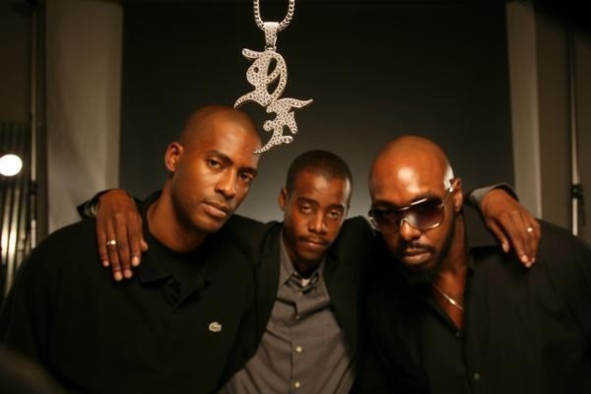 From left to right:  Rico Wade, Ray Murray and Sleepy Brown