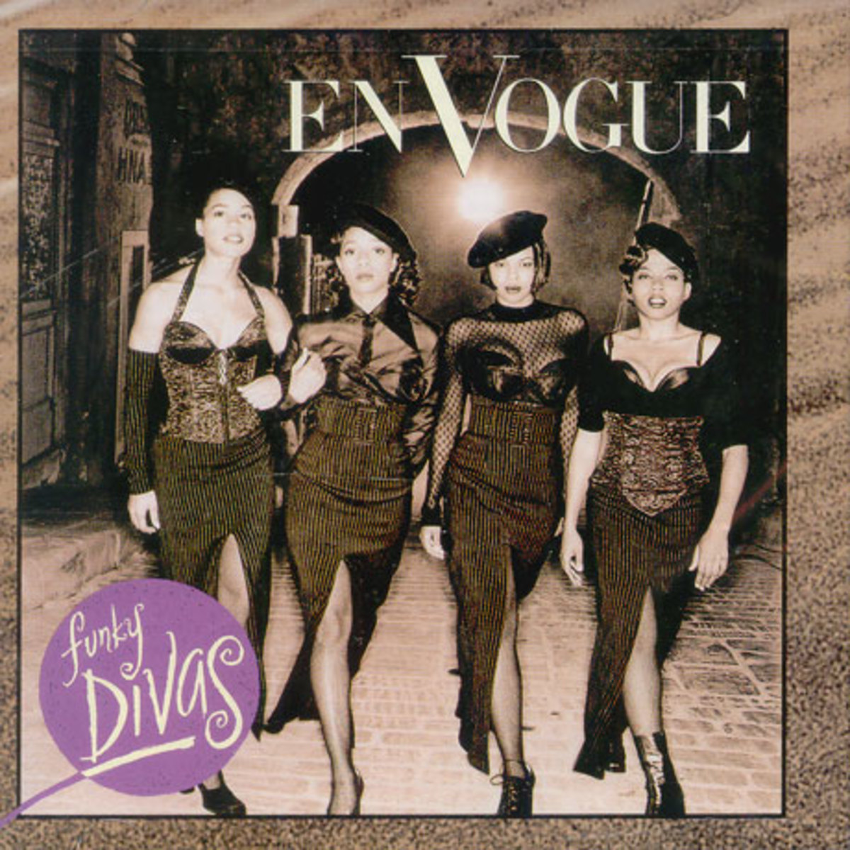In 1992, En Vogue released their 2nd album Funky Divas.  Funky Divas took the group to a higher level with a more polished and commercially pleasing sound.