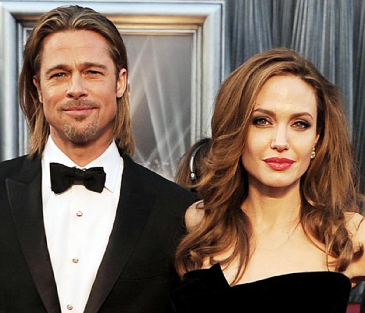 Brad Pitt (52) and wife Angelina Jolie (40)