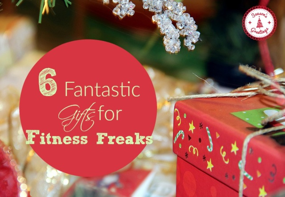 6 Fantastic Gift Ideas for Fitness Freaks