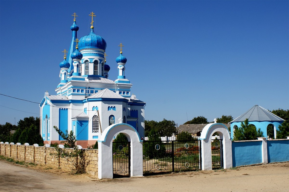 A Ukrainian Orthodox Church in Crimea