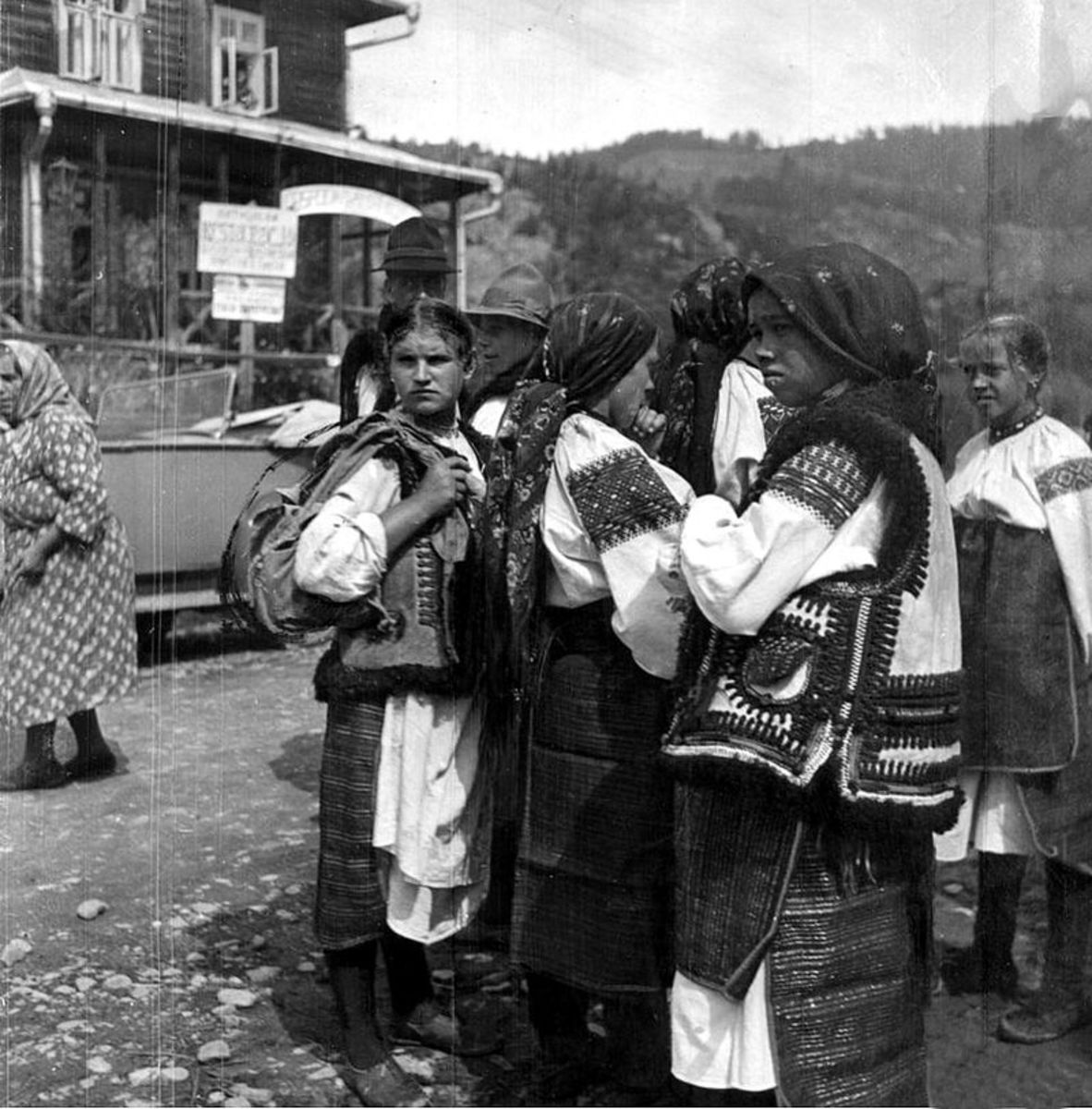 Hutsuls of 1934.