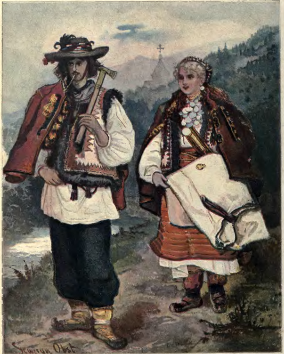 Hutsuls of 1902.