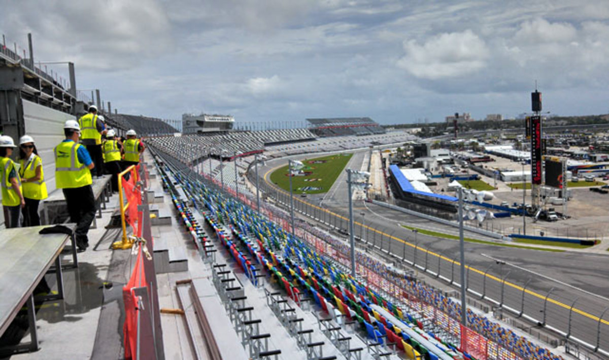 Daytona Rising is a $400 million fan enhancement project at the Daytona International Speedway