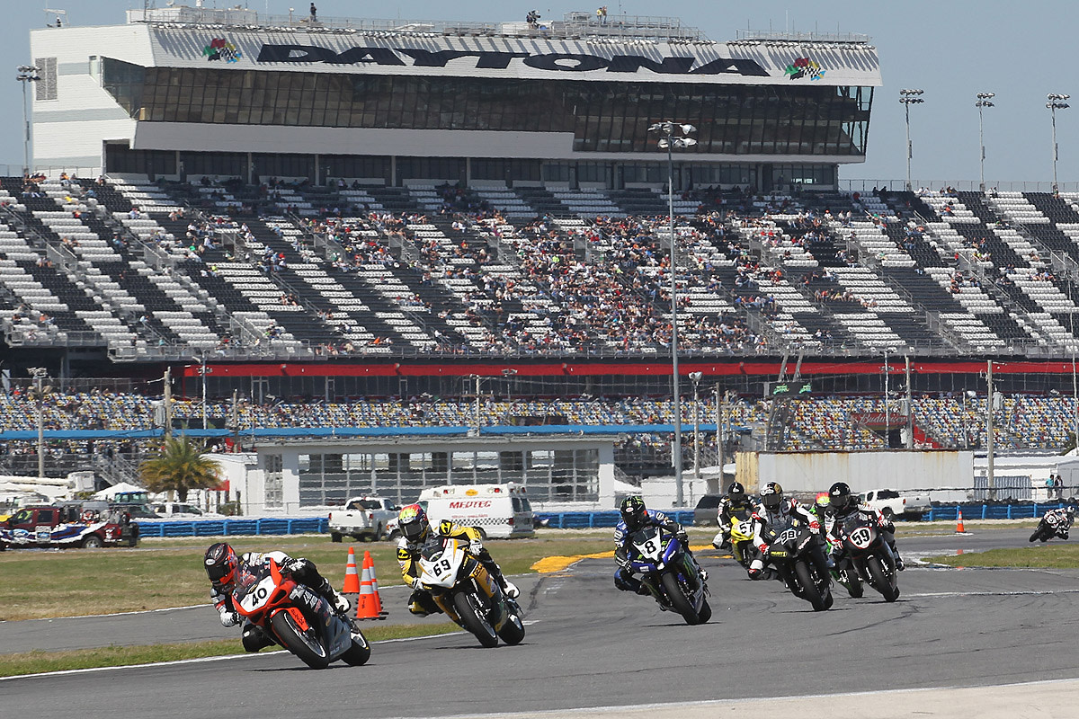 Superbikes at Daytona