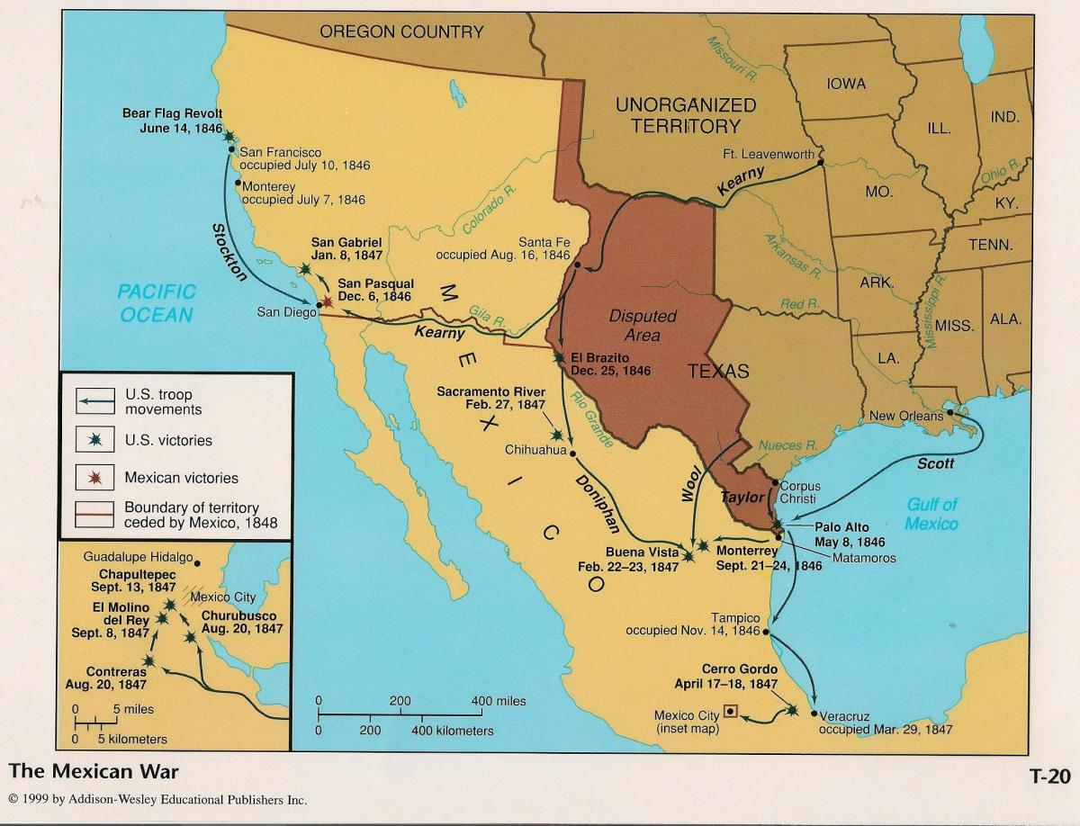 the-wars-that-affected-californias-statehood