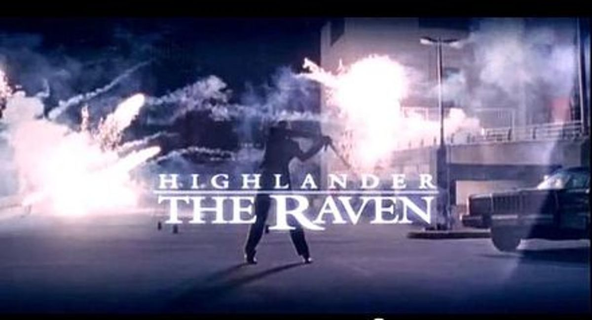 Highlander: The Raven poster