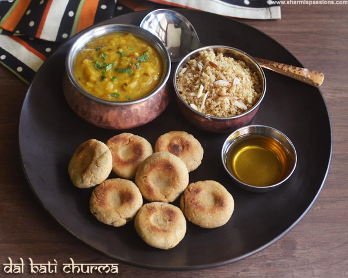 Straight From Rajasthan: Daal Bati Churma Recipe