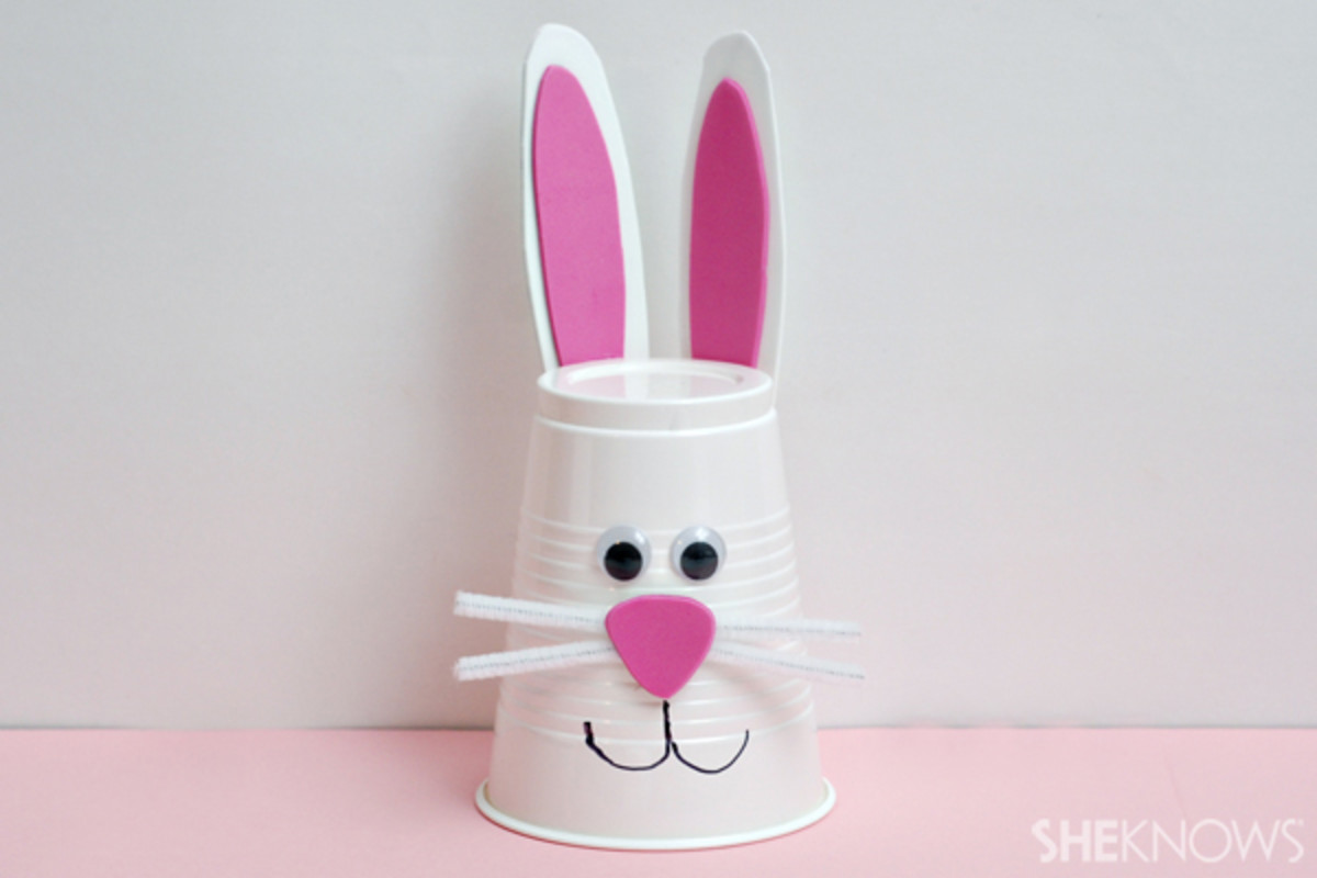 This is called the Easy And Quick Bunny Craft Project For Kids - can you figure out why?