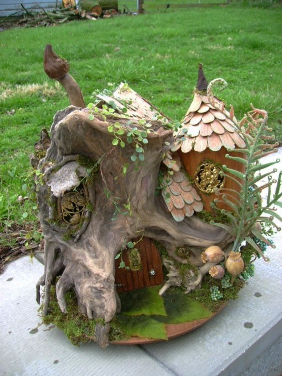 This beauty is from etsy.com and it is so perfect for a Fairy Garden.
