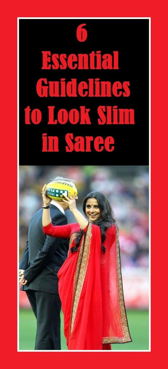 6 Essential Guidelines to Look Slim in Saree