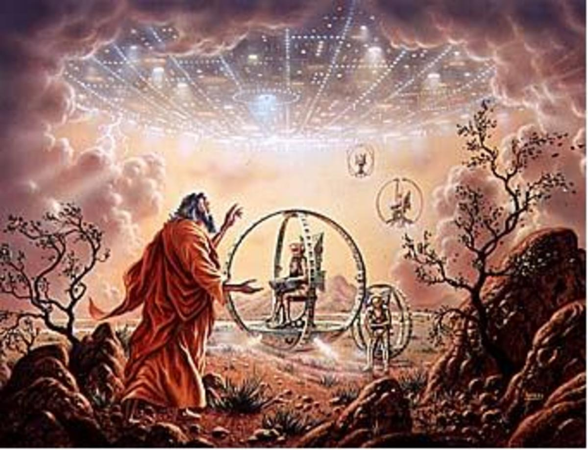 Aliens and UFOs In The Bible- Does The Bible Detail Gene Manipulation By An Alien Race?