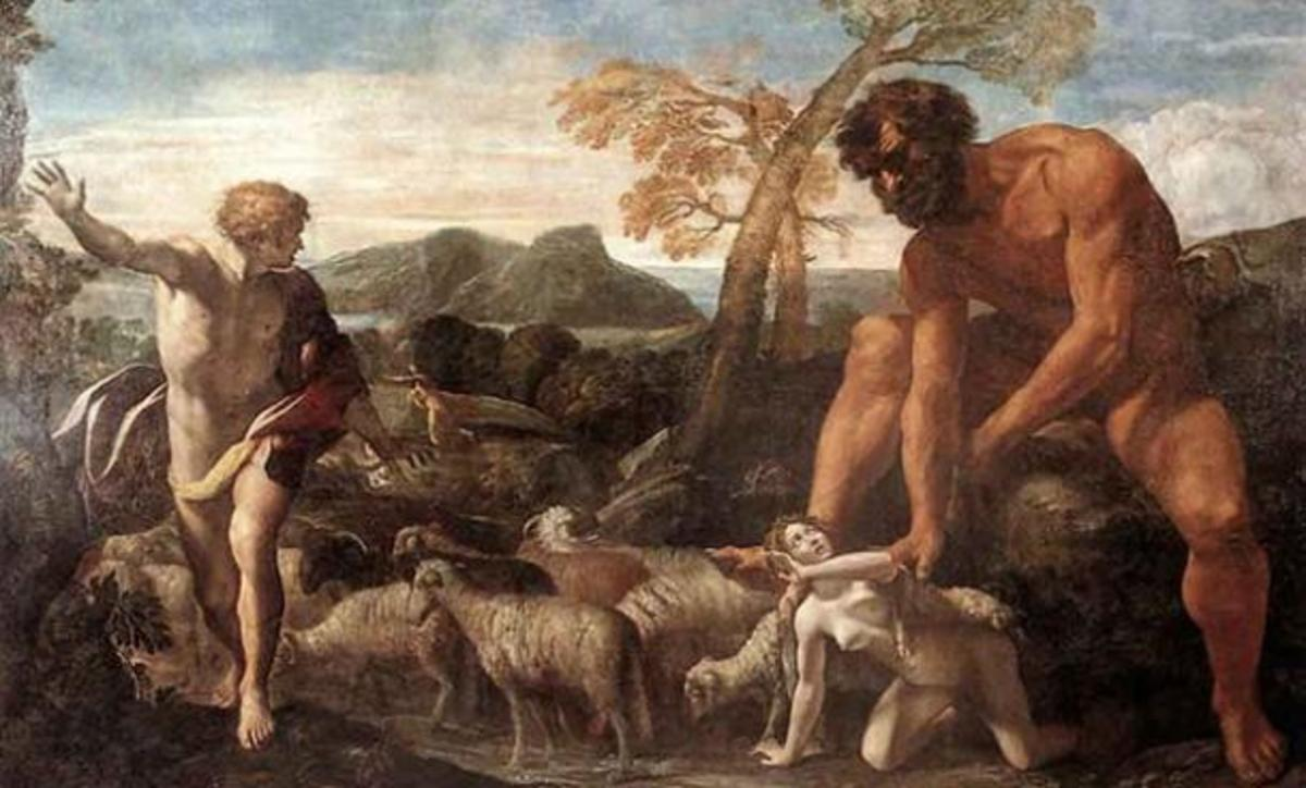 The Nephilim could have been giants created by the cross breeding of aliens and humans in biblical times.