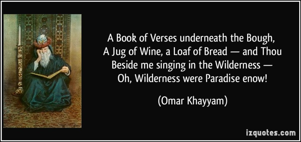Women, Wine, and Omar Khayyam