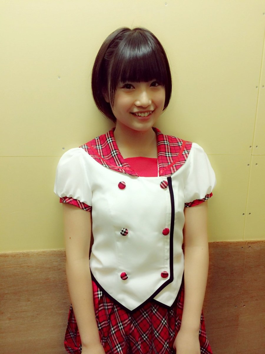 Mio Tomonaga  Cute Japanese idol singer and member of the groups HKT48 and AKB48