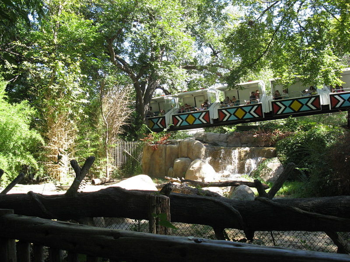 Dallas Zoo Monorail
