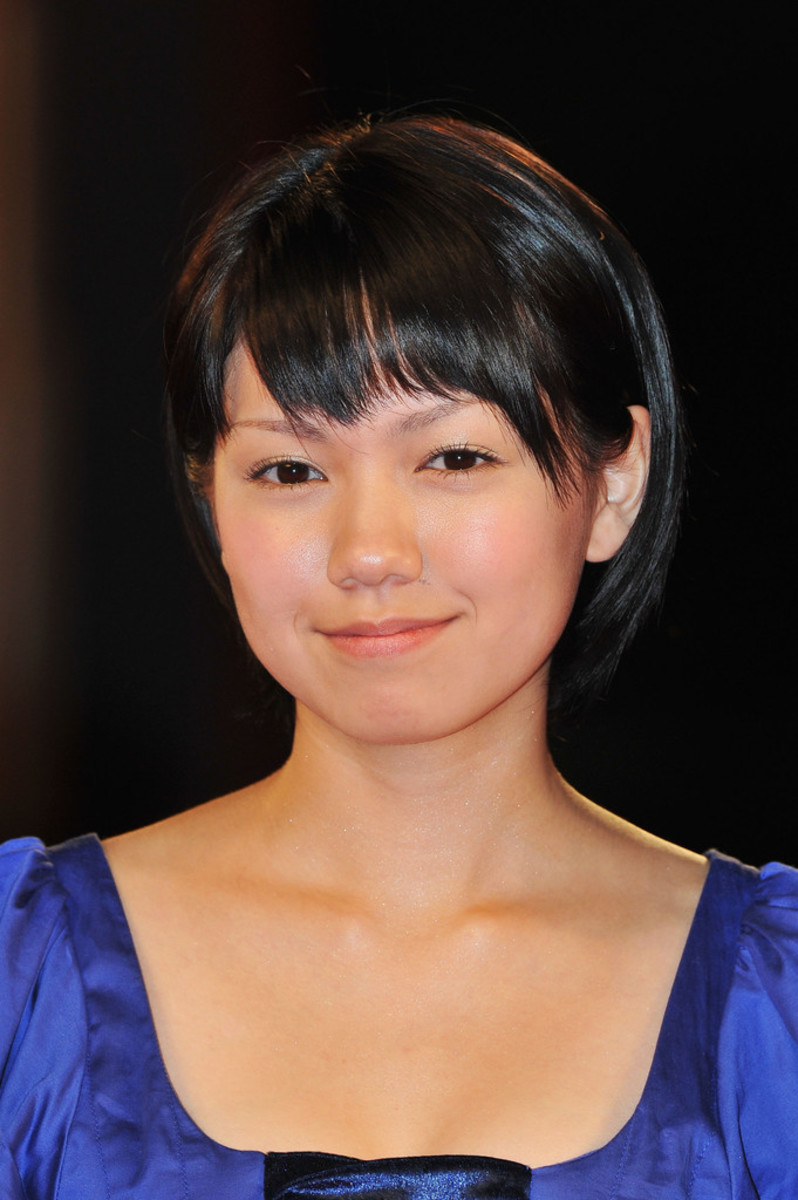 Actress Fumi Nikaido is present at the 68th annual Venice International Film Festival for the premiere of the movie Himizu.