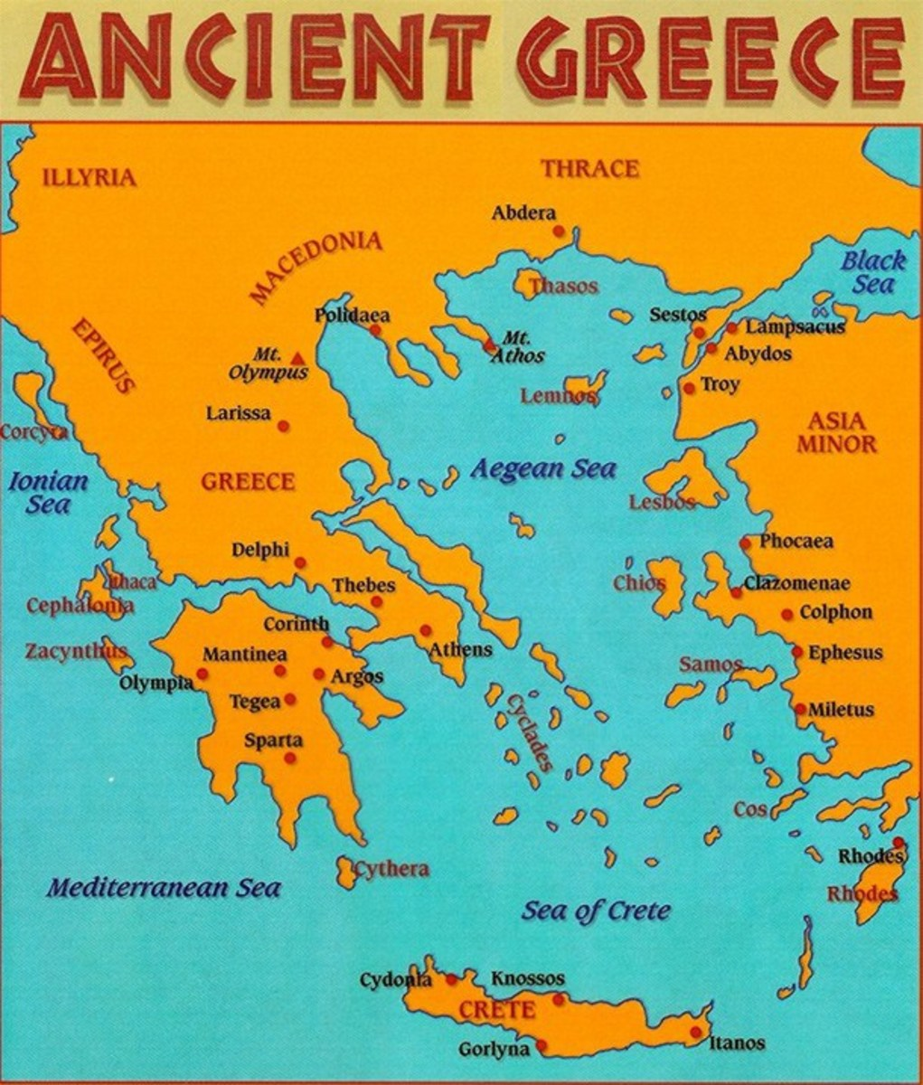 Ancient Greece during the Mycenaean's Time.