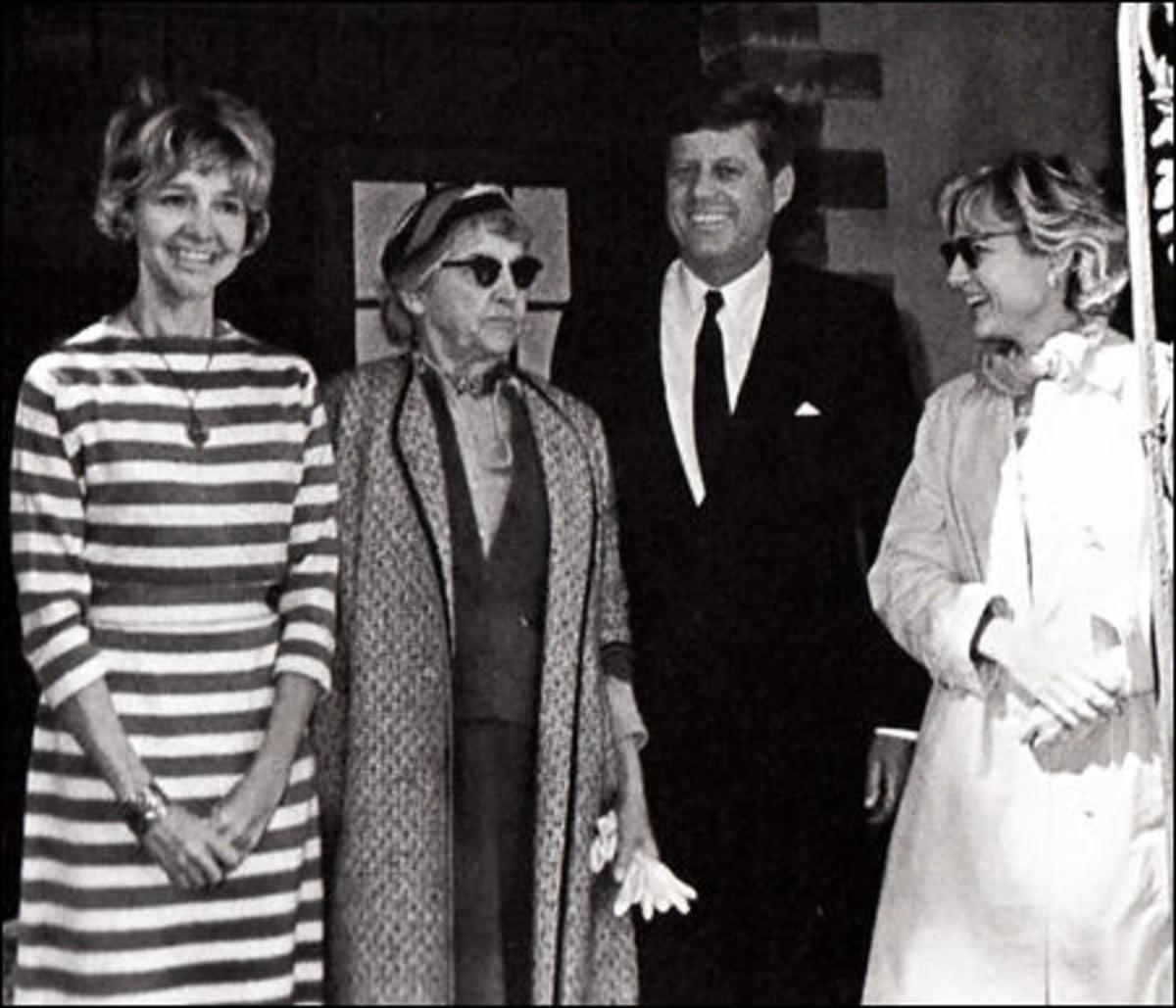 Mary far right) and Jack.