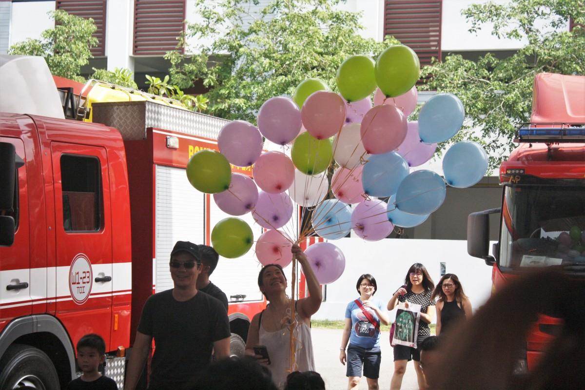 Helium balloons from Spotlight