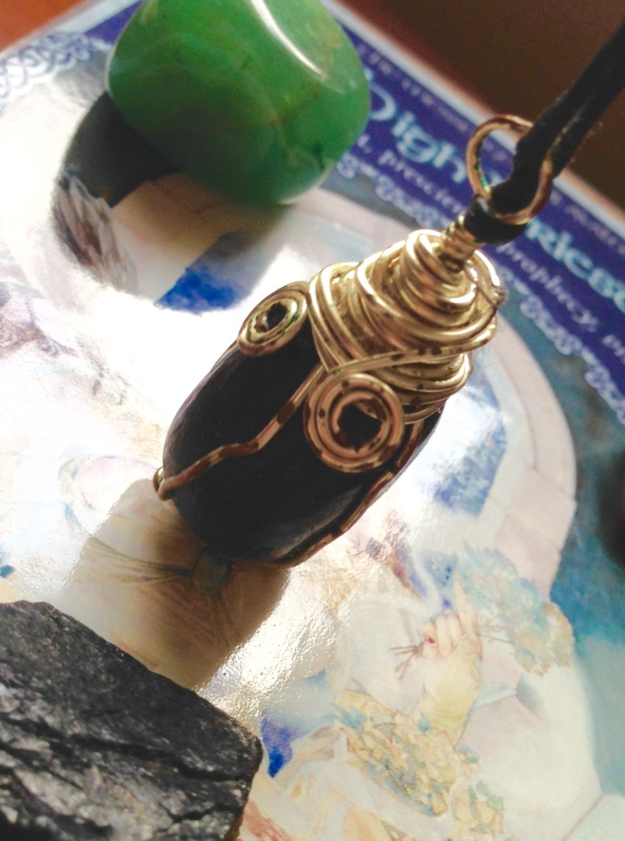 The Legend of the Sorcerer's Stone, Nuummite and It's Crystal Healing Properties