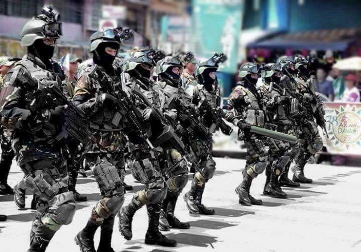 The well-equipped police force based in Davao City organized under then Mayor Rodrigo Duterte.