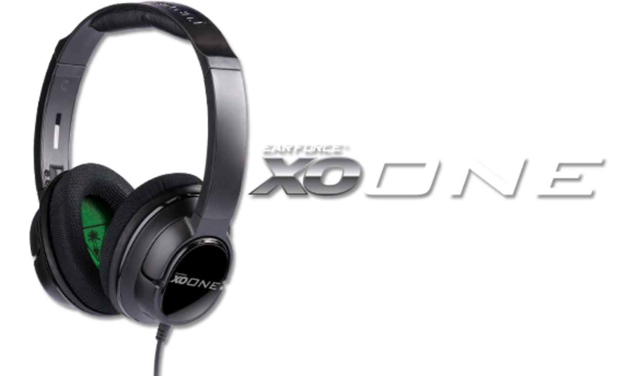 The Turtle Beach XO One headset is compatible with the Xbox One and mobile devices.