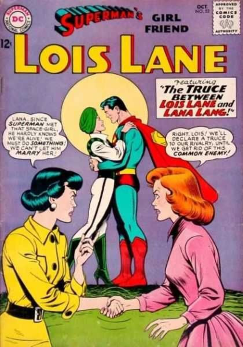 It was all about Lois getting her Superman