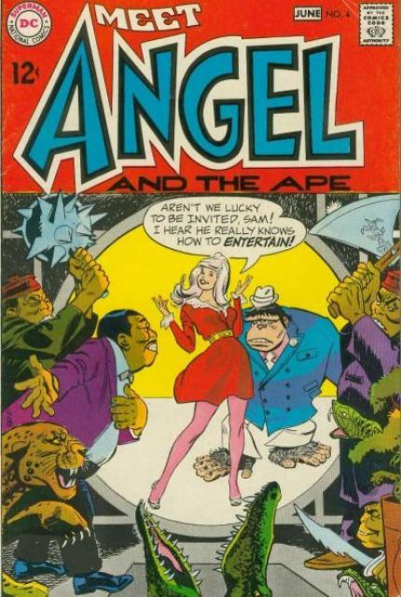 Angel and the Ape - Silver Age