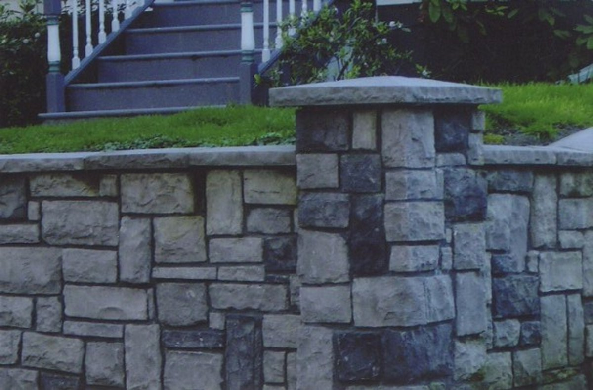 Types of retaining walls based on the design