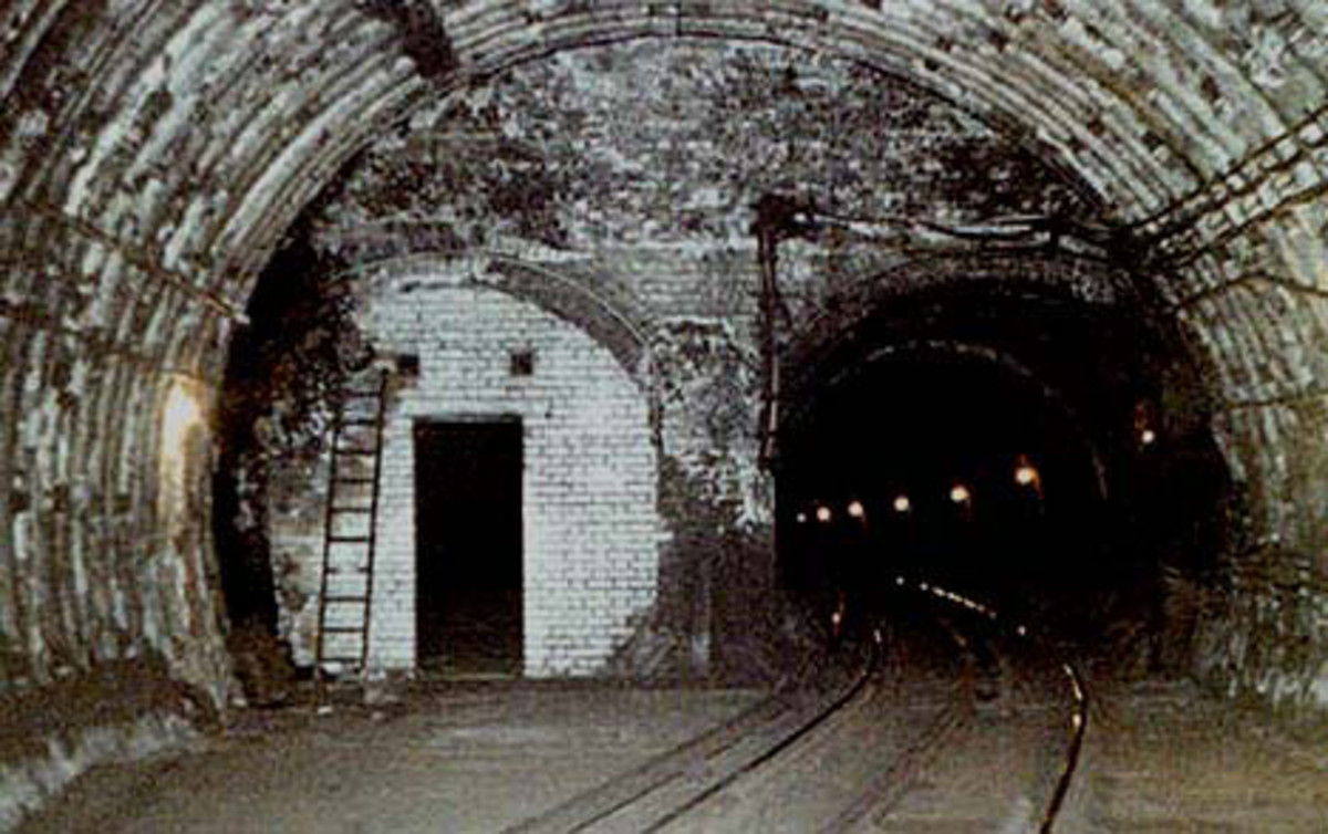 Tunnels at Aldwych