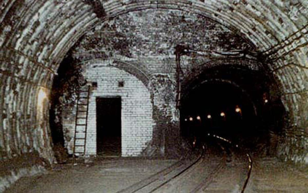 Tunnels at Aldwych