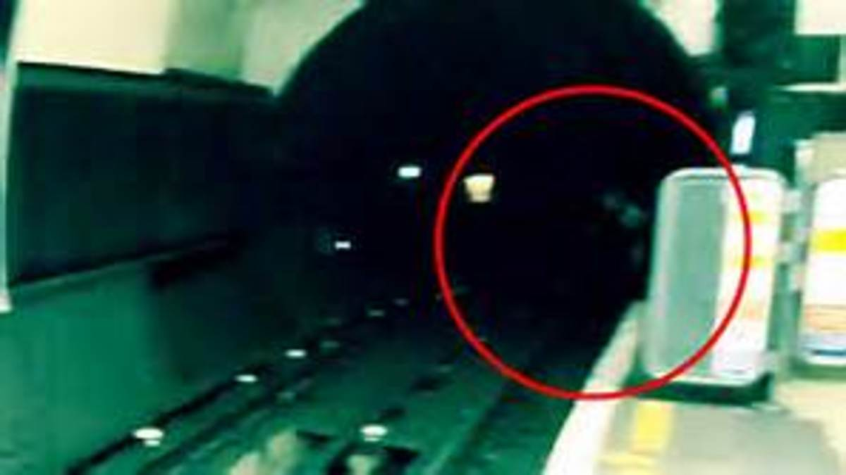 Ghost in tunnel
