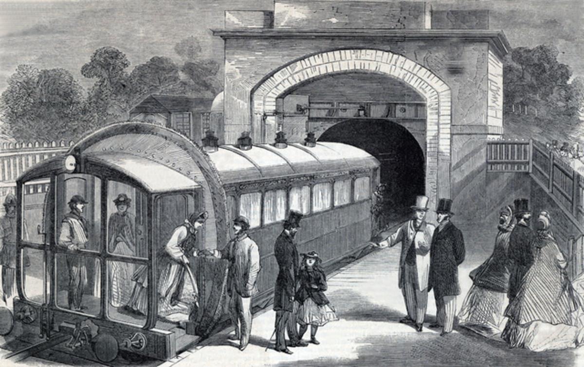 Pneumatic railway