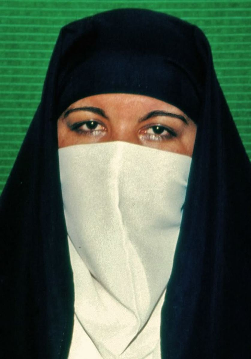 Veiled Muslim woman