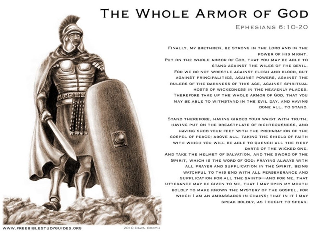 Armor of God, What Is This?? (8/19/2016, Message#47)