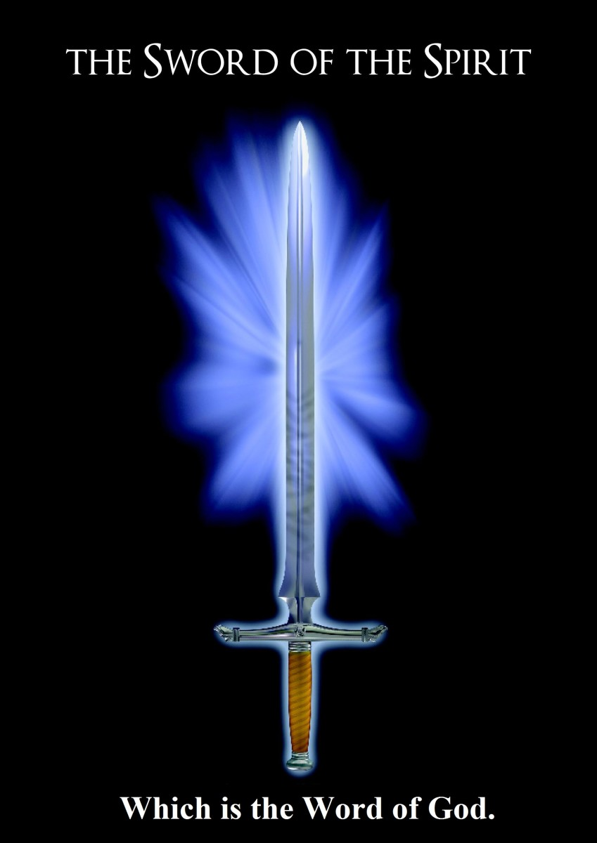The Word of God, the Sword of the Spirit!