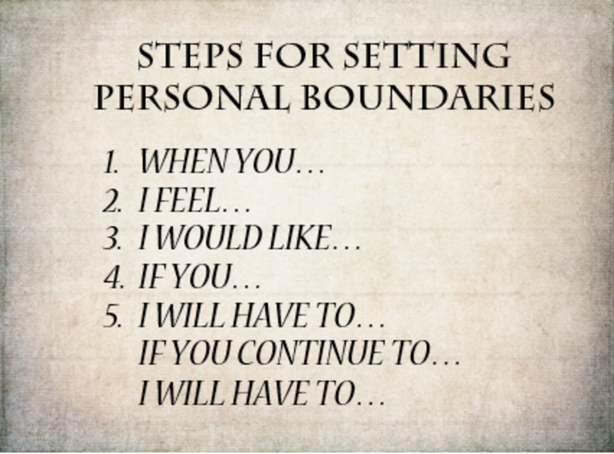Setting Effective Personal Boundaries