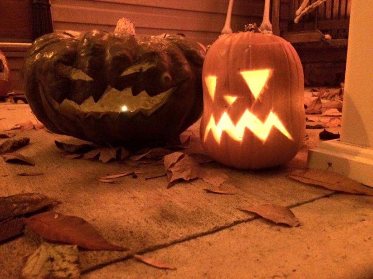Jack-o-Lanterns, Halloween 2015