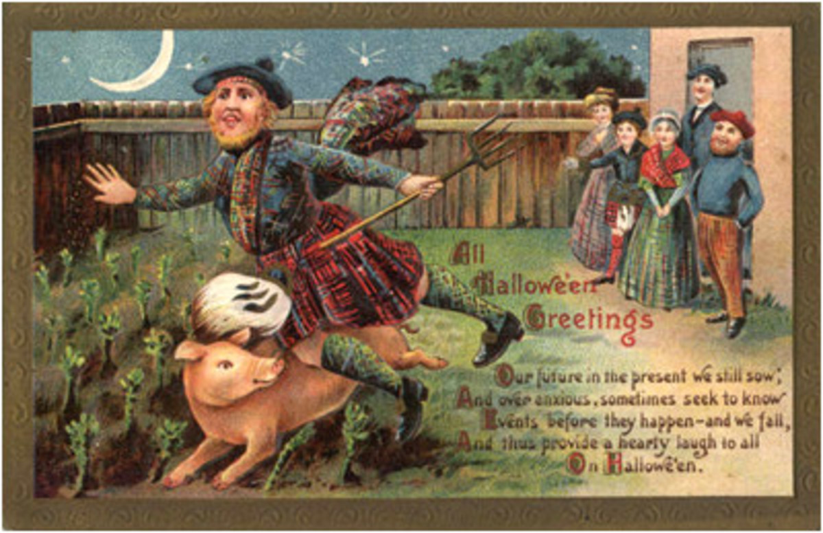 Old Halloween postcard