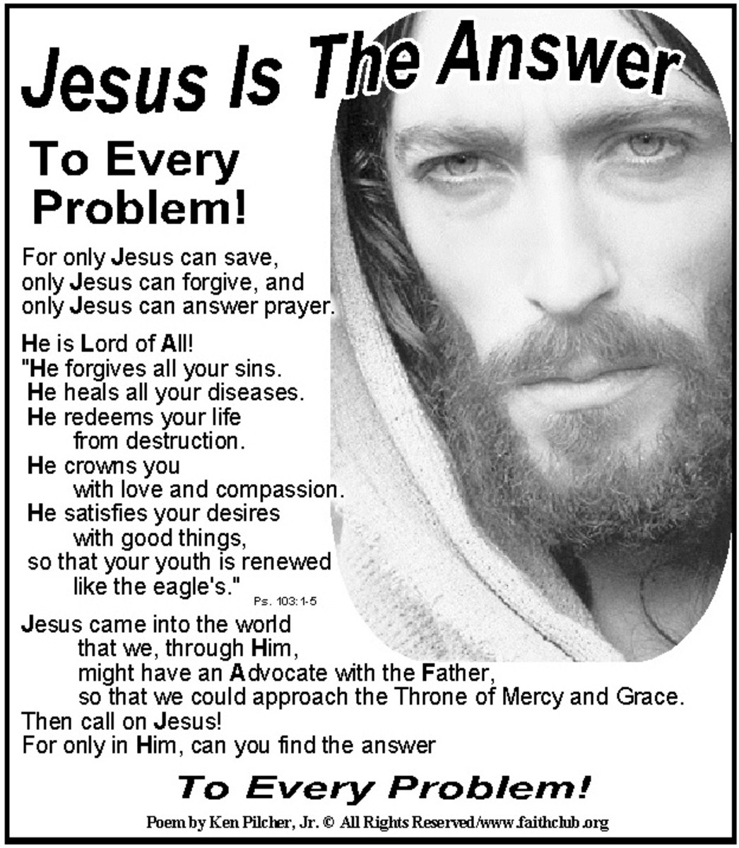 The Lord Jesus Knows Your Answers!