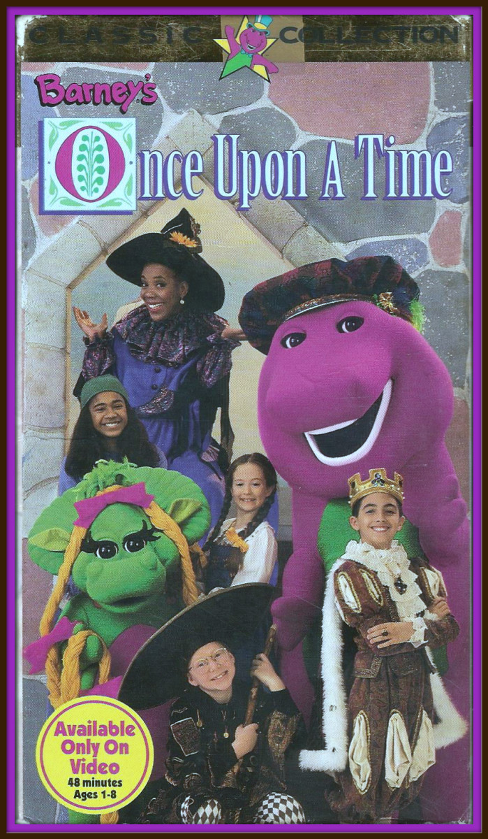 """From """"Once upon a time"""" to """"And they all lived happily ever after,"""" it is a day of fun, favorite stories and songs with Barney Baby Bop and Stella the Storyteller."""
